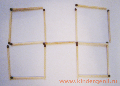 Задачи на логику со спичками